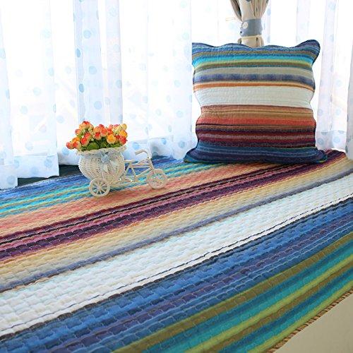 New day®-Il nuovo quattro stagioni panno di cotone cuscini finestra balcone mat high - end di moda , 90*160cm