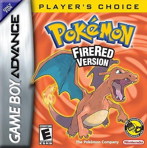 Pokémon Fire Red (GBA) [import anglais]