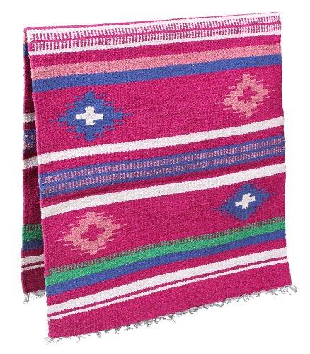 Kerbl 32968 Satteldecke Navajo, 150 x 75 cm, rosa