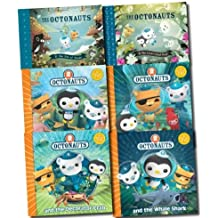The Octonauts Collection 6 Books Set (Octonauts and the Giant Squid, Octonauts and the Decorator Crab, Octonauts and the Whale Shark, Octonauts and the Electric Torpedo Rays, Octonauts and the Sea of Shade, Octonauts and the Great Ghost Reef)