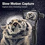 3-Axis Gimbal Stabilizer for Smartphone - Hohem iPhone Gimbal Stabilizer with Face Tracking Motion Time-Lapse APP… 11