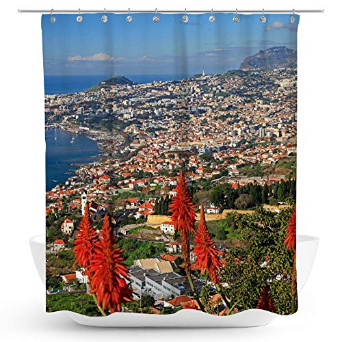 fotobar!style Duschvorhang 175 x 200 cm Funchal
