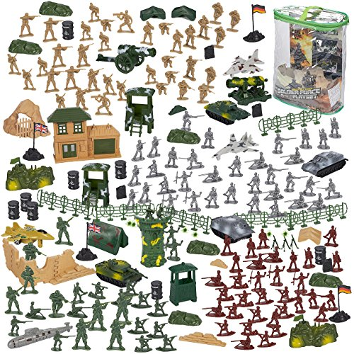 Blue Panda 300-Piece Army Action...