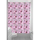 Sourpuss Zombie conejo cortina de ducha