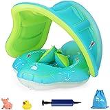 Luchild Flotador de Natación para Bebés, Anillo de Natación Bebé Juguetes de Piscina Inflable de Piscina Nadar Anillo para Ni