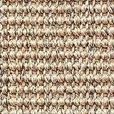 Teppichboden Auslegware | Sisal Naturfaser Schlinge | 400 cm Breite | beige mix | Meterware, verschiedene Größen | Größe: 1 x 4m