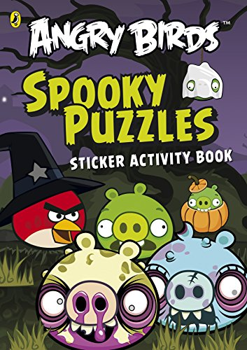 Puzzles Sticker Activity Book (Angry Birds Activity Book) (Spiele Angry Birds Halloween)