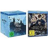Harry Potter Blu-ray Box Komplettbox Teil 1-7.2 alle Teile + Phantastische Tierwesen und wo sie zu finden sind [Blu-ray Set]