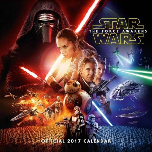 Official Star Wars Episode 7 2017 Calendar - The Force Awakens Square Wall Calendar 2017 Test