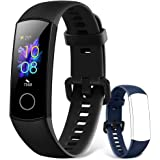 HONOR Band 5 Smartwatch Fitness Tracker Monitoraggio SpO2, Battito Cardiaco 24/7 e Sonno, Display Touch AMOLED 0.95 Pollici,