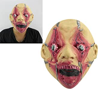 Halloween Adult Hamulus Fear Torture Horror Latex Rubber Overhead Costume Mask