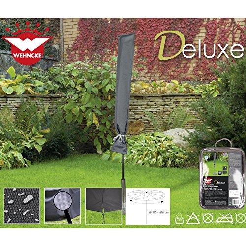 Deluxe Schutzhülle für Sonnenschirm, ø200-410 cm, Polyester Oxford 420D - Party Schirm...
