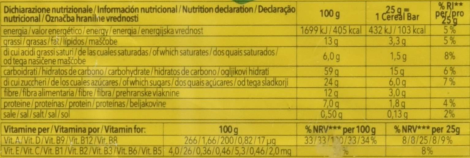Dr.Schär Cereal Bar - Pacco da 25 x 25 g, Senza glutine 2 spesavip