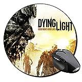 Dying Light Tappetino Per Mouse Tondo Round Mousepad PC