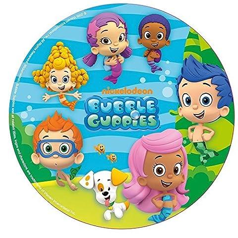 Disque Pâte à Sucre Bubble Guppies Décoration Gâteau Enfant 20