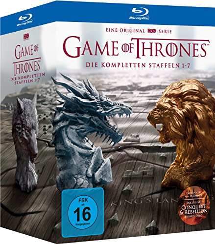 Game of Thrones: Die kompletten Staffeln 1-7 Digipack + Bonus Discs + Fotobuch (exklusiv bei Amazon.de) [Blu-ray] [Limited Edition]