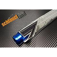 1m Alu-Titan Hitzeschutzschlauch ID 60mm *** Wärmeschutz Kabelschutz Heat sleeve