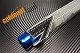1m Alu-Titan Hitzeschutzschlauch ID 20mm Klettverschluss *** Heat Sleeve Thermoschutz Isolierschlauch Kabelschutz