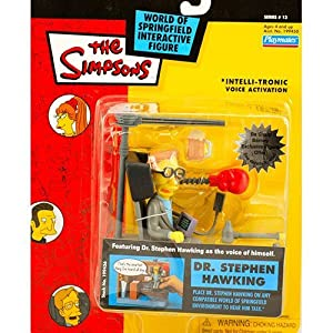 Simpsons Dr. Stephen Hawking action figure by Playmates Toys 3