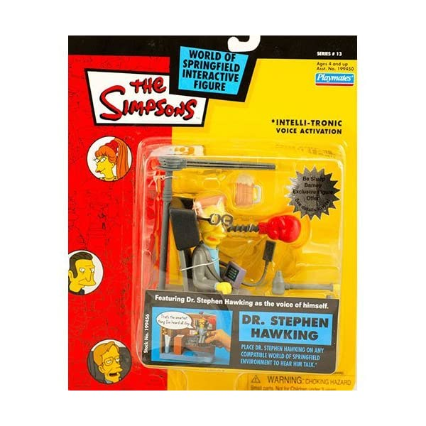 Simpsons Dr. Stephen Hawking action figure by Playmates Toys 1