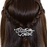 Best unknown Man Jewelries - Viking Celtics Hair Accessories Hairclip-Celtic Knots Viking Hair Review
