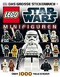 LEGO Star Wars Minifiguren Das große Stickerbuch: Über 1000 tolle Sticker