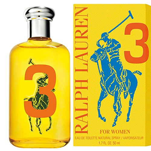 RALPH LAUREN Big Pony 3 gelb Wom EDT Vapo 50 ml (3 Pony Big)