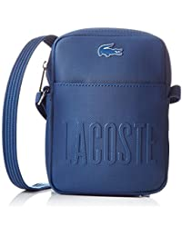 Lacoste NH2002MS, Sac Bandouliere Homme, Dark Blue, 14.5 x 6 x 25 cm