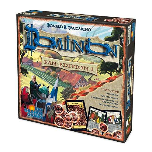 Preisvergleich Produktbild Rio Grande Games 22501420 - Dominion - Fan Edition