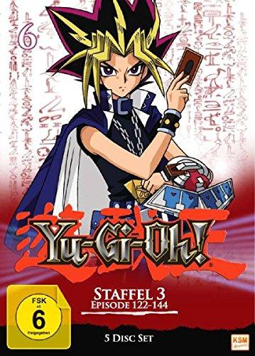 Yu-Gi-Oh! - Staffel 3.2 (Folge 122-144 im 5 Disc Set) 3,2