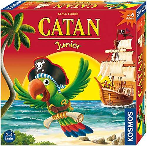 Kosmos 697495 - Catan Junior, Brettspiel, Strategiespiel