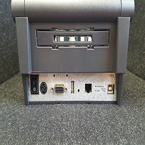Bixolon SRP slp-dx420eg BIXOLON SRP, slp-dx420, Label Drucker, Schwarz, Ethernet, USB, 6ips, DT, 203dpi, Netzteil, 3Jahre Garantie (Desktop-thermodrucker)