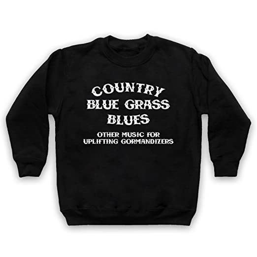 Inspiriert durch CBGB OMFUG Country Blue Grass Blues Logo Unofficial Kinder  Sweatshirt: Amazon.de: Bekleidung