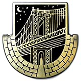 Dorrarium Dumbo Lapel Pin | Manhattan Bridge Pin | Hard Enamel