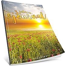 Dékokind® 3 Jahres Journal: Ca. A4-Format, 190+ Seiten, Vintage Softcover • Dicker Jahreskalender, Tagebuch für Erwachsene, Kalenderbuch • ArtNr. 11 Sunset • Ideal als Geschenk