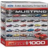 Euro Gráficos Puzzle 1000 piezas - Ford Mustang Evolución 50a Ls (cuadro de 8x8) (MO) - (EG80000684)