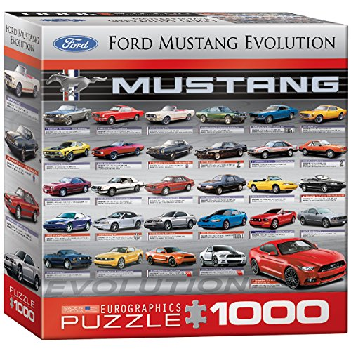grafica-euro-1000-puzzle-pieces-ford-mustang-evolution-50a-ls-scatola-8x8-mo-eg80000684