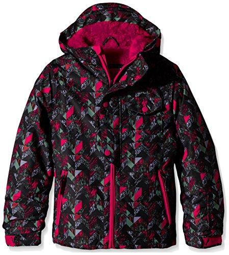 O'Neill Mädchen Skijacke PG Carat Jacket, Pink Aop, 176, 555071