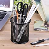#7: I-Gadgets Round Steel Mesh Pen/Pencil Stand