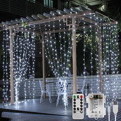 LE Cortina luces LED