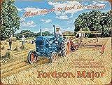 Fordson Major More Power blechschild (og 2015)