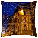 Florence Lights, Italy - Throw Pillow Cover Case (18