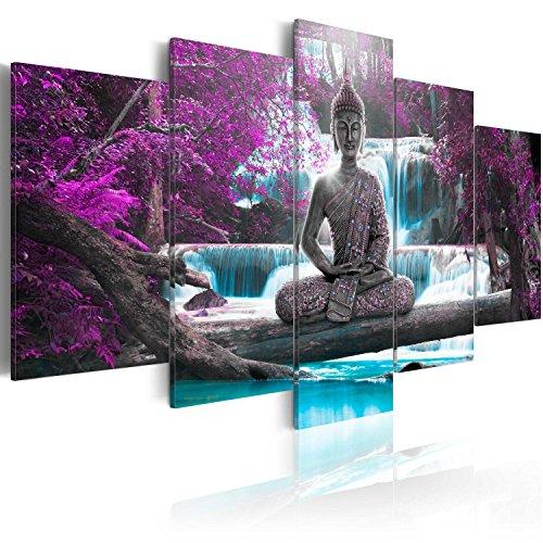 Murando - Cuadro Buda 200x100 cm Abstracto Impresión