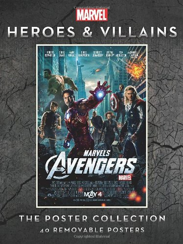 MARVEL HEROES AND VILLAINS (Insights Poster Collections)