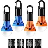 Lepro Campinglykta, batteridriven campinglampa, bärbar LED-glödlampa för tält, 3 belysningslägen, passar för camping, vandrin