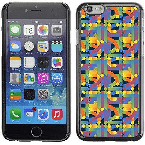Graphic4You GLITCHY Muster Harte Hülle Case Tasche Schutzhülle für Apple iPhone 6 Plus / 6S Plus Design #19