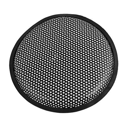 Dia-grills (sourcingmap® Schwarz Metall Mesh Runde Woofer Abdeckung Lautsprecher Subwoofer Grill 10 \Dia