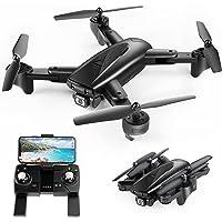 SP500 2K Drone con GPS Telecamera, Trasmissione WiFi 5G, Modalità Ritorno Home, Modalità Seguimi, Controllo dei Gesti, Volo Circolare, Modalità Hover per i Principianti