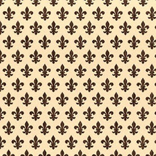 Klebefolie Möbelfolie Lilien - Lily braun - Dekorfolie 45cm x 15 Meter
