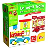Lisciani - F49714 - Jeu De Société Éducatif - Le Petit Train Des Animaux De La Ferme